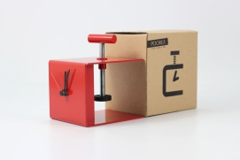 Vice Clock - desk organizer
